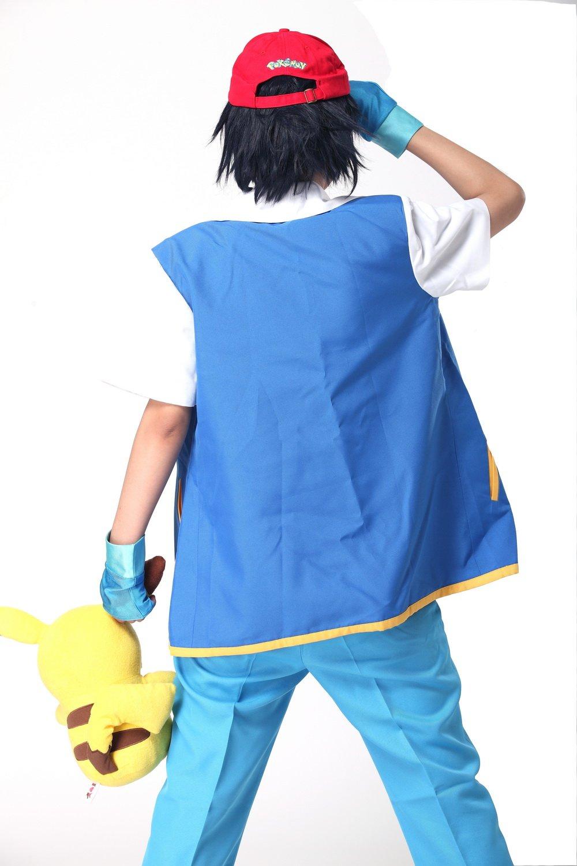 amazon com pokemon ash ketchum cosplay costume hat cap coslive