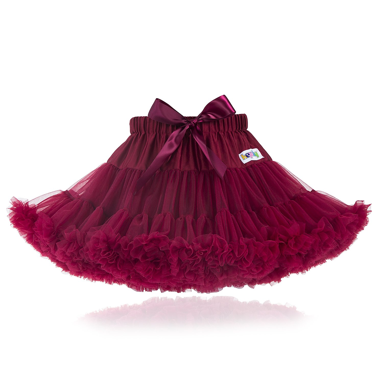 kephy Baby Extra Fluffy Princess Tutu Skirt Little Girl Pleated Tulle Skirt Birthday Dance Pettiskirt (0-10T)