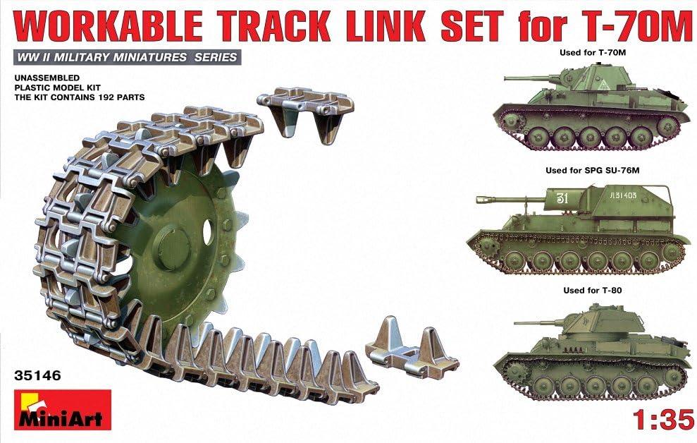 WE210 Workable Track Link Set MIN35323 Miniart 1:35 scale model kit