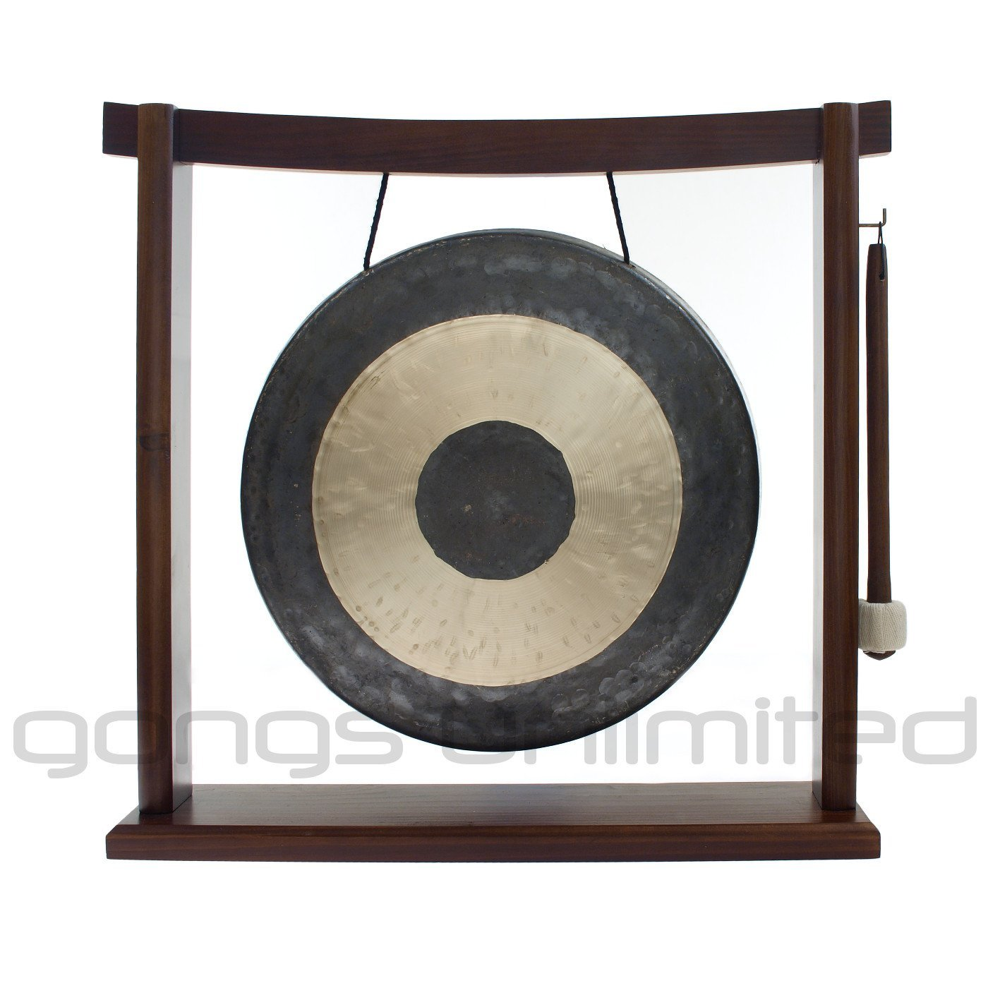 10'' to 12'' Gongs on the Woodsonic Gong Stand