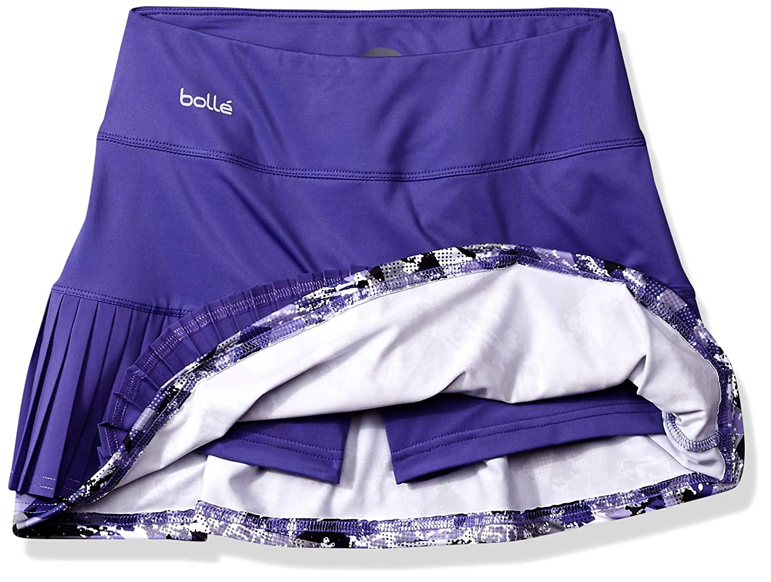 Boll/é Purple Passion Multi-Pleat Tennis Skirt with Built in Short Purple Passion