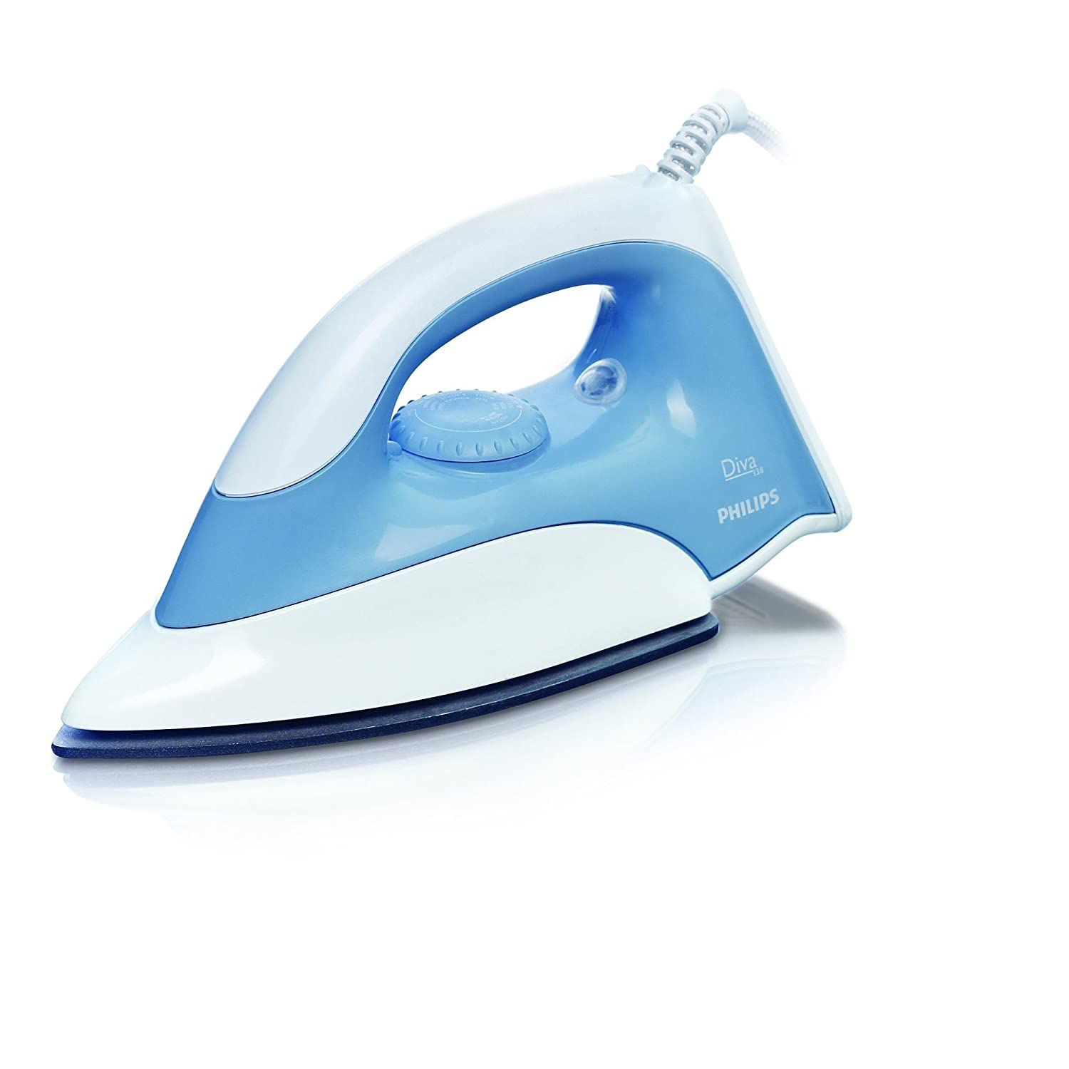 Amazon.com: Philips GC138 1100-watt Plancha en Seco (Azul y ...