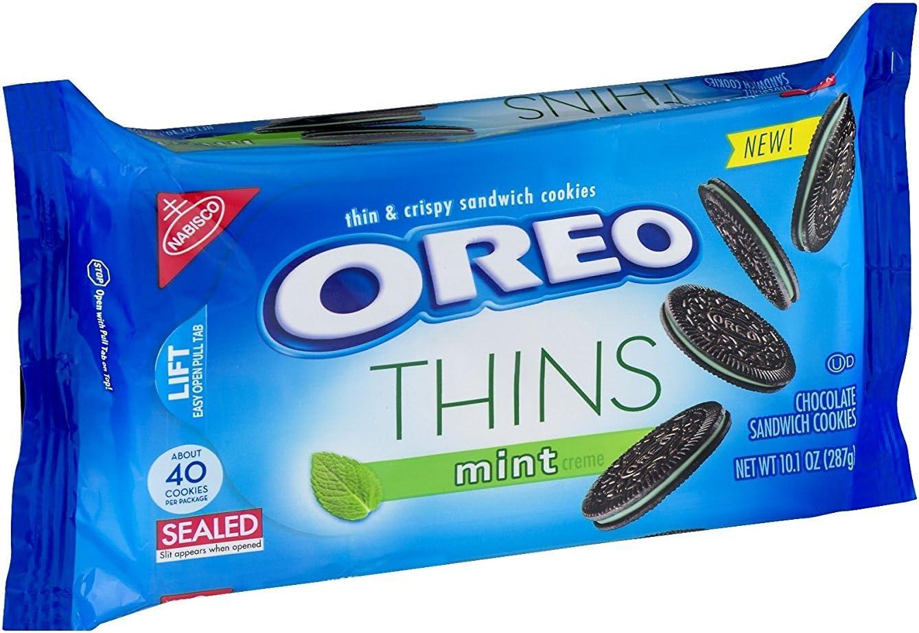 Nabisco, Oreo, Thins, 10.1oz Bag (Pack of 4) (Choose Flavors Below ...