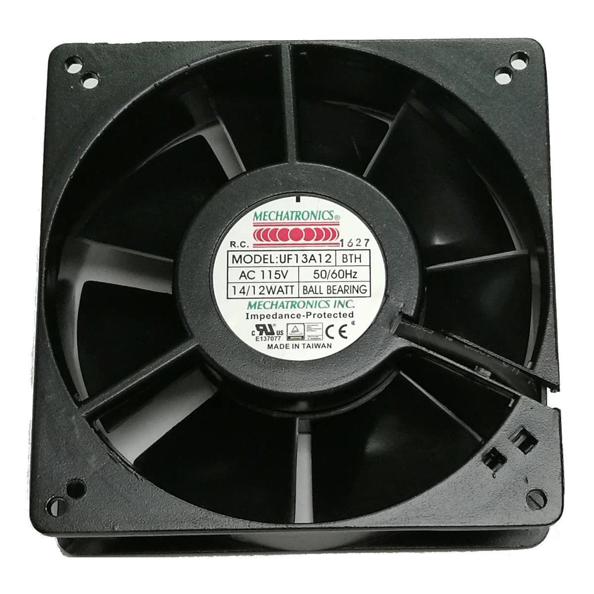 Mechatronics 115V AC Fans 127x38mm, High Speed