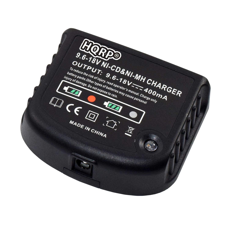 Amazon.com: HQRP 9.6V-18V Ni-Mh Ni-Cd Battery Charger fits ...