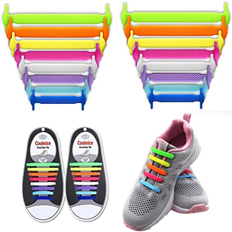 LattoGe No Tie Shoelaces for Kids and