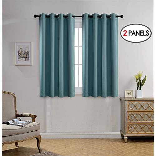 Do Blackout Curtains Wear Out: Teal Blackout Curtains: Amazon.com