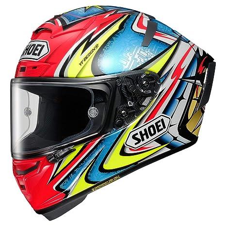 Amazon.com: Shoei X-14 Daijiro Street - Casco de moto, M ...