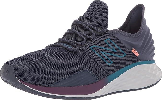 New Balance Fresh Foam Roav, Zapatillas de Running para Hombre, Gris (Dark Grey/Purple Dark Grey/Purple), 40 EU: Amazon.es: Zapatos y complementos