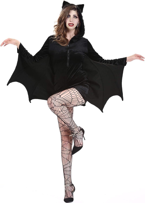 Halloween Black Bat Wings for men /& women  in Costume Party Size 100 x 30 cm