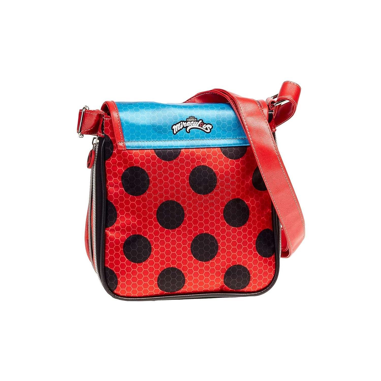 Amazon.com: Karactermania Ladybug Marinette Messenger Bag ...