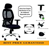SEAT CHACHA Pollo Chrome Base High Back Office Chair Adjustable Arms