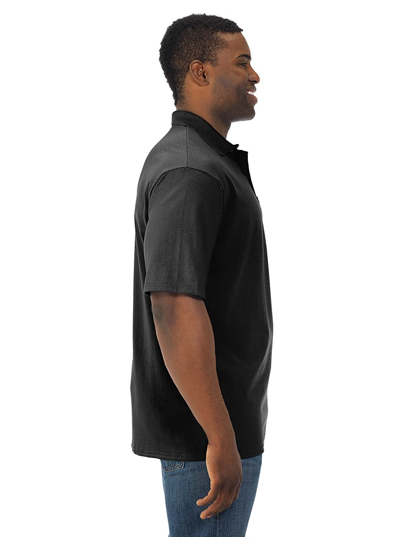 JerzeesメンズSpotshieldショートスリーブポケットジャージースポーツシャツ、jz436mpr、2 x B01M1Y3DZK