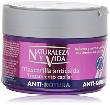 Natur Vital Hairloss Anti-Breakage Intensive Mask / Strengthens and Restructures 300 ml