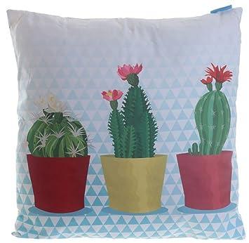 Cojín con diseño divertido de cactus para habitaciones de ...