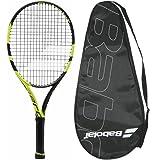 2016 Babolat Pure Aero Junior 26 Tennis Racquet - Srung with Cover Grip Size 4 4 1 8