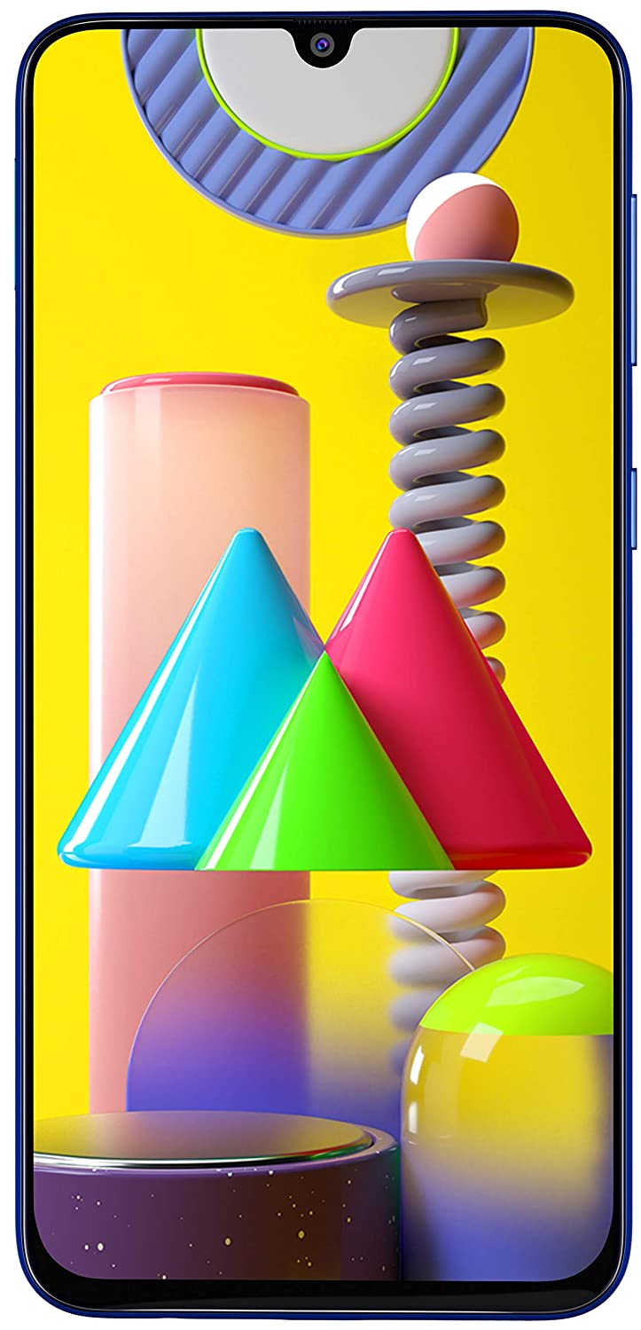 Samsung Galaxy M31 (Ocean Blue, 6GB RAM, 128GB Storage) - Extra Rs 1000 Amazon Pay cashback on prepaid for Prime Customers - Limited Period Offer