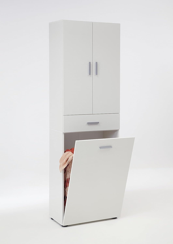 bad hochschrank mit w schekorb. Black Bedroom Furniture Sets. Home Design Ideas
