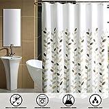 SHU UFANRO Tenda d'acquazzone elegante Tessuto rapido asciutto Tessuto doccia allungato e spessore doccia con 12 ganci 180 * 180cm