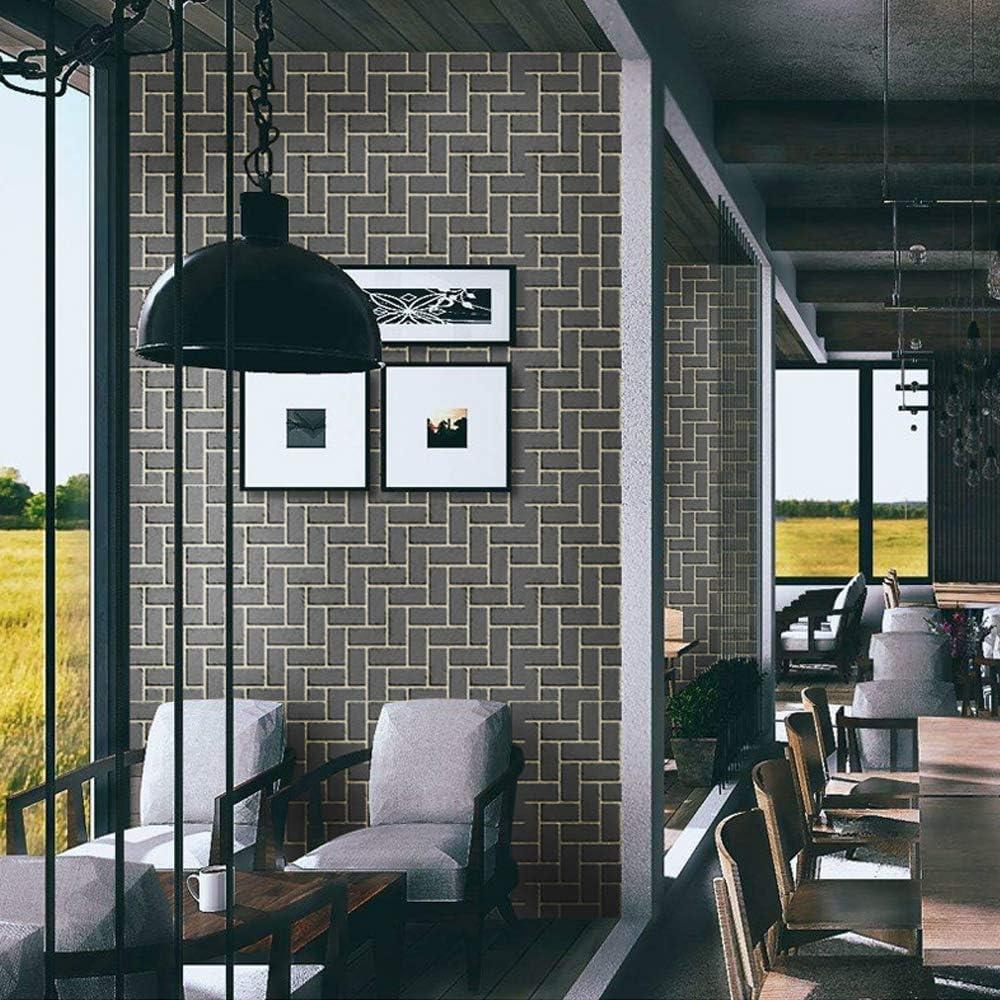 Wanweitong Papier Peint Auto-Adh/ésif Papier Peint Motif de Brique Pierre Vinyle 3D pour Home Chambre Salon TV Fond D/écoratif Autocollant Mural 45cm x 200cm 200cm, A1