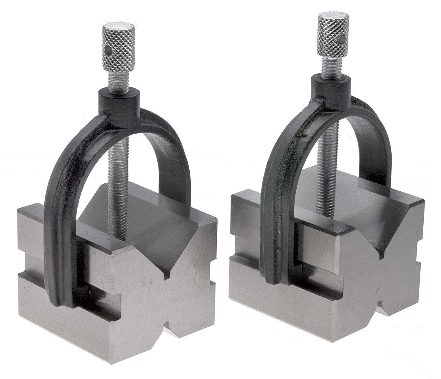 1-5//8 x 1-3//4 x 2-3//4 V-Block and Clamp