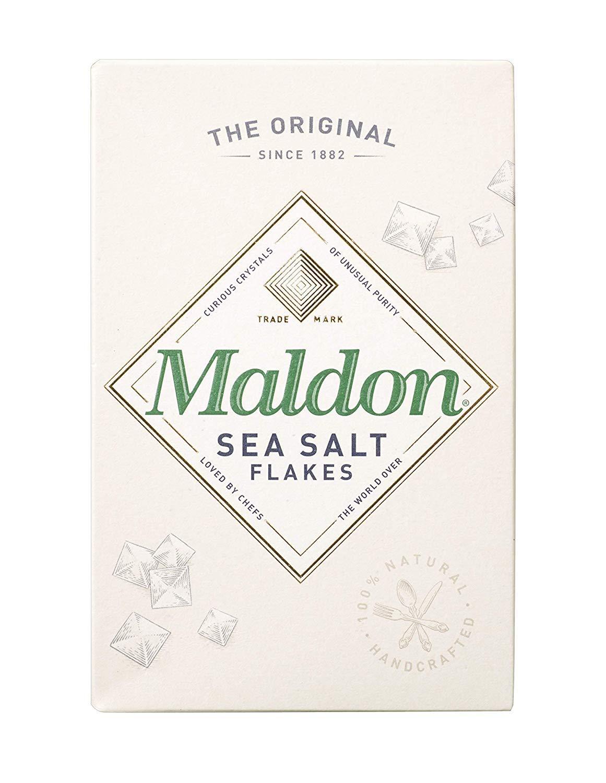 Maldon Sea Salt Flakes, 8.5 Ounce Box (2 Pack(8.5 Oz.))