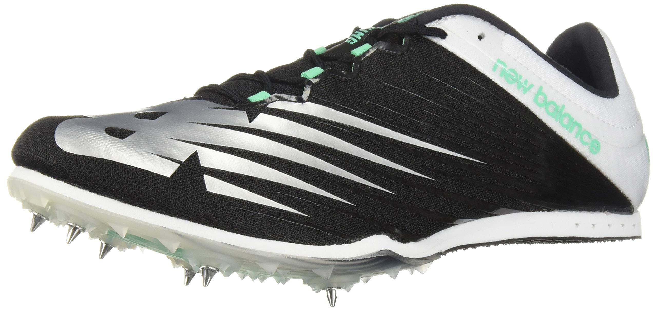 New Balance Men's 500v6 Track Shoe Black/White 11.5