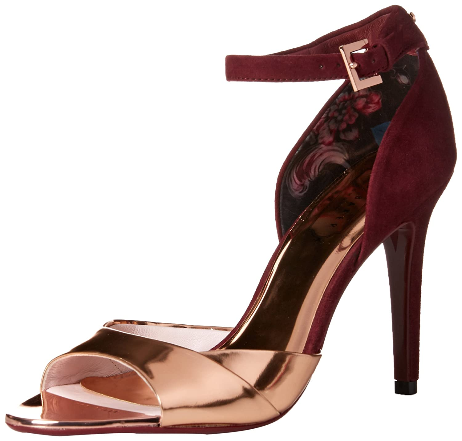 580a2f26544 Amazon.com: Ted Baker Women's CAMIYL Dress Sandal: Shoes