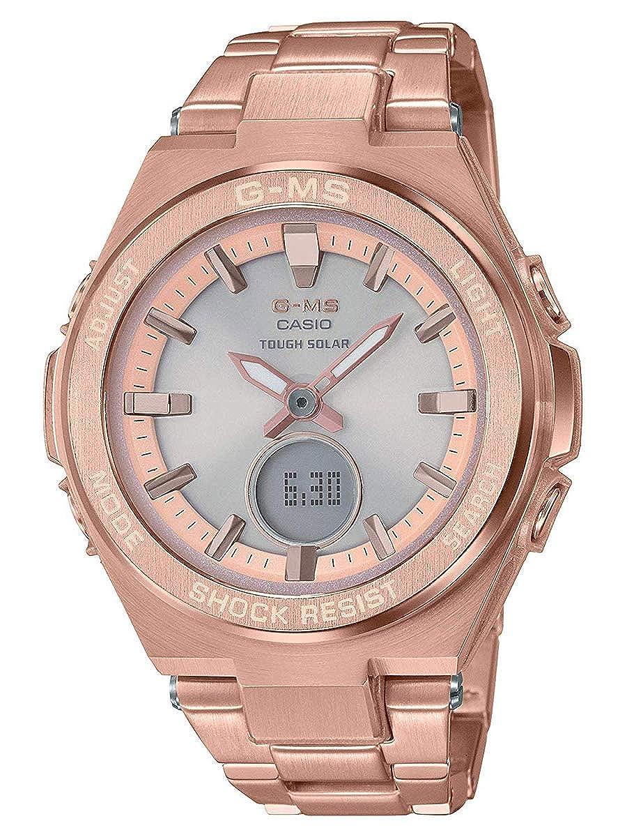9906b1b930af3 Amazon.com  Ladies  Casio Baby-G G-MS Rose-Tone Watch MSGS200DG-4A  Watches