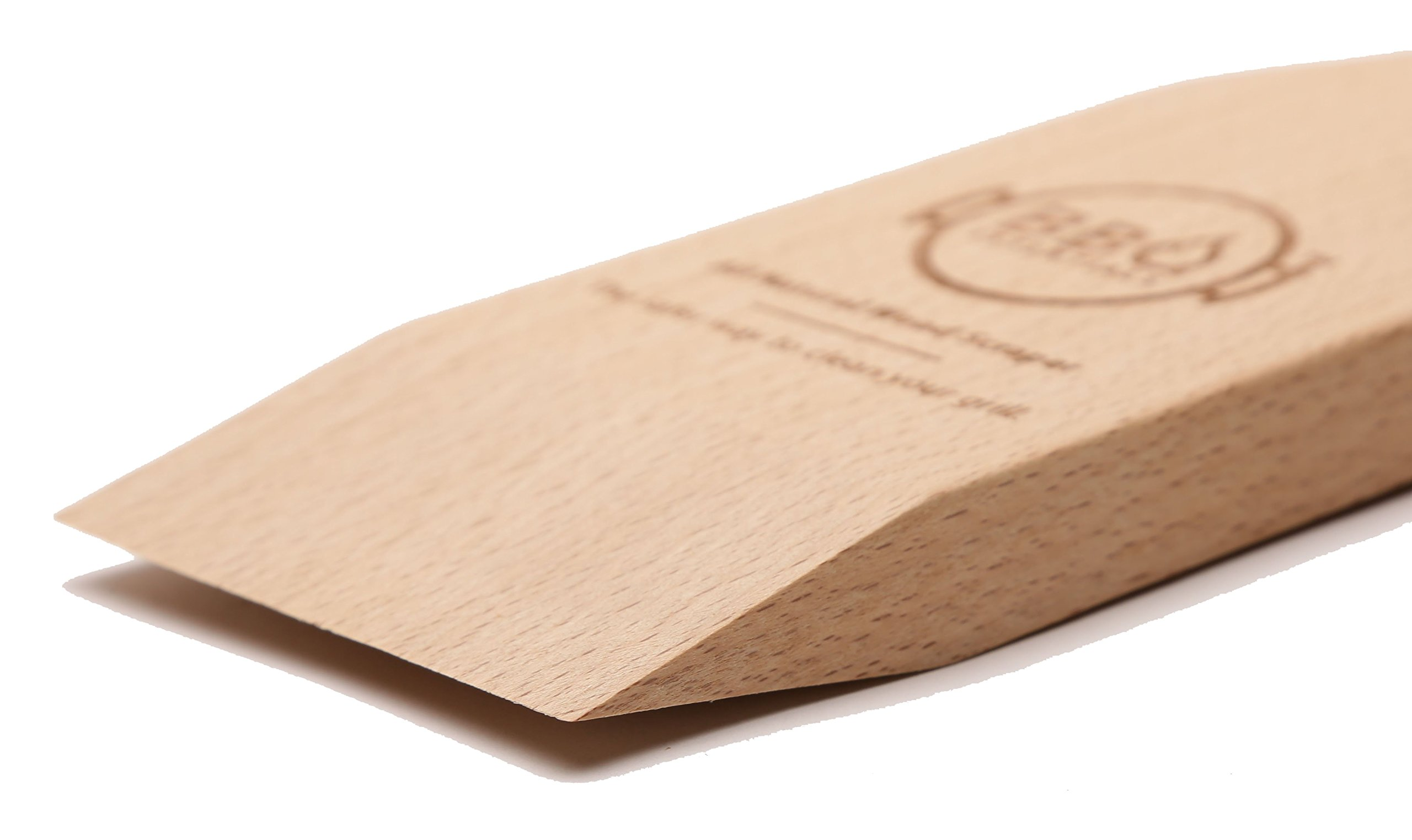 BBQ Essentials All Natural Wood Scraper - Safe, Small, Sustainable Solution to Grill Cleaning by BBQ Essentials (Image #4)