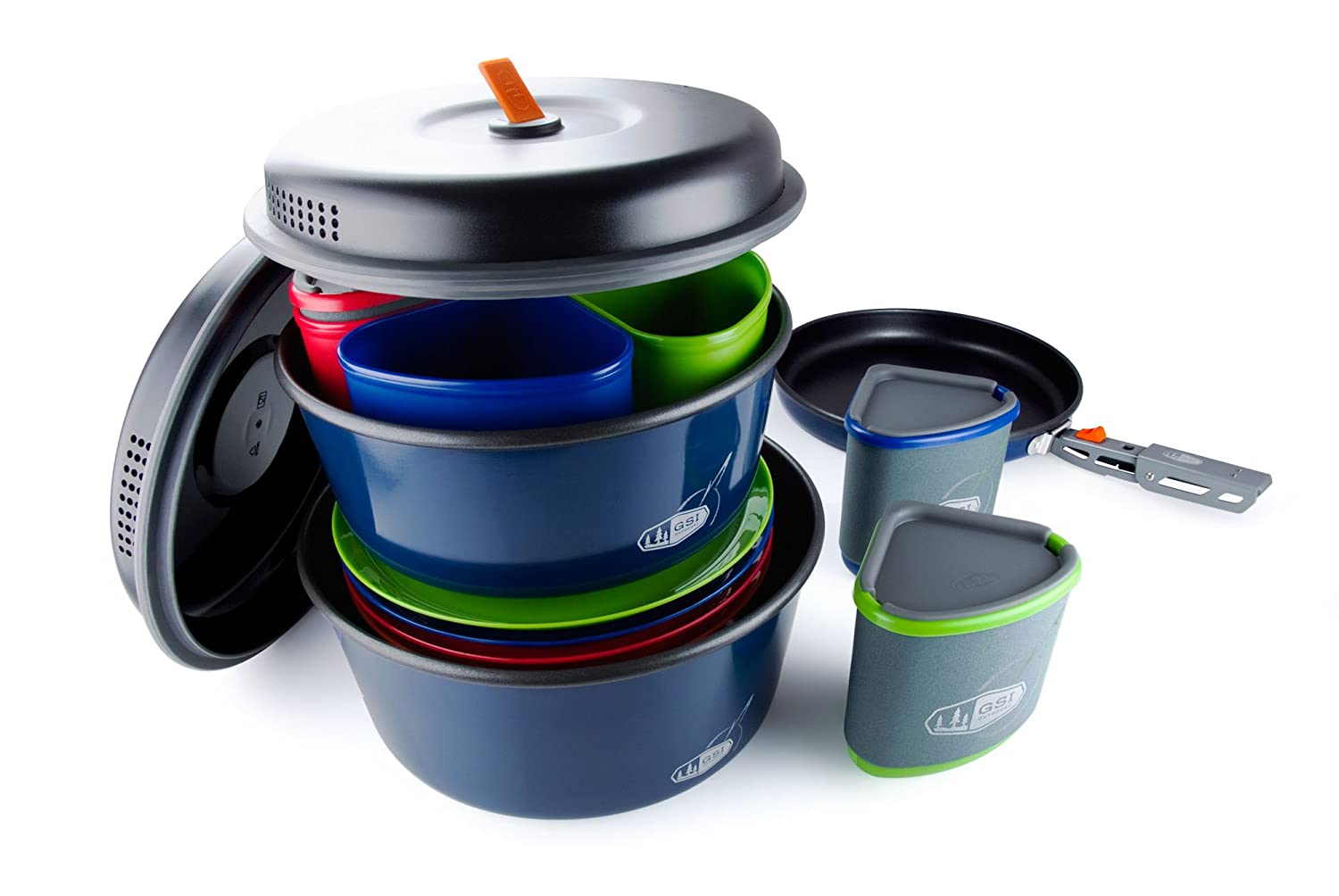 GSI Outdoors Bugaboo Camper Superior Backcountry Cookware Since 1985 Nesting Cook Set