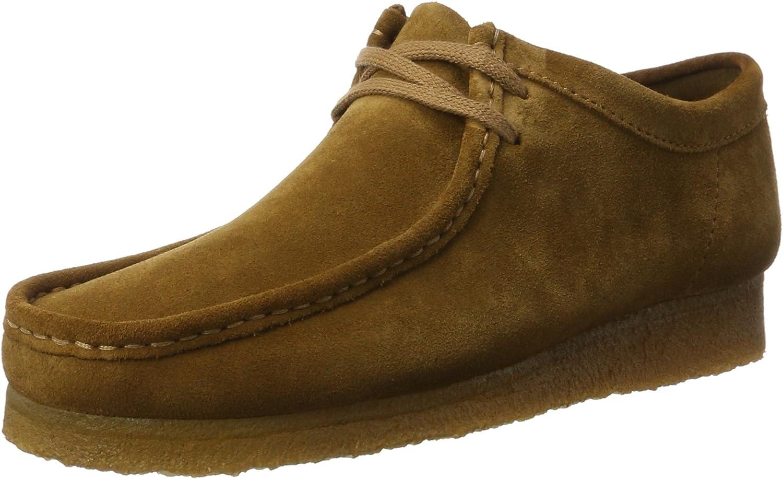Desconocido Wallabee, Zapatos de Cordones Brogue para Hombre