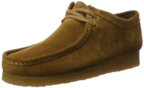 Clarks Originals Wallabee Schwarz Damen Schuhe Günstig