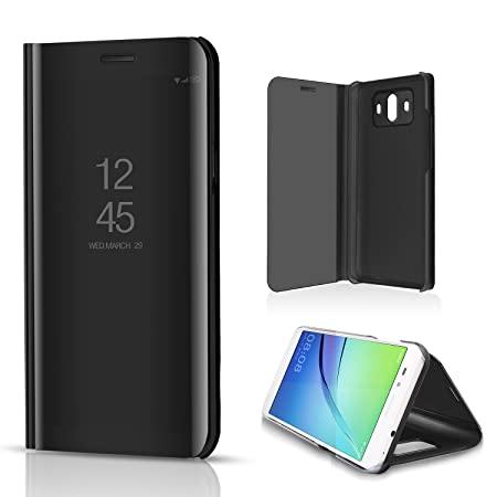 half off a31b3 6971f Sycode Luxury Screen Protect Black Slim Fit Clear Standing View ...