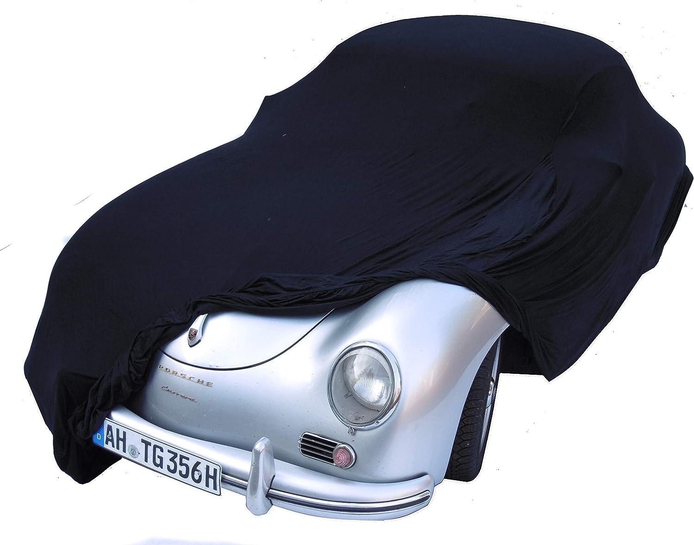 Grau bis 4,30 Meter EXCOLO Auto Schutzh/ülle Schutzhaube Plane Indoor Hochwertig rot grau oder schwarz bis 5,80 m lang