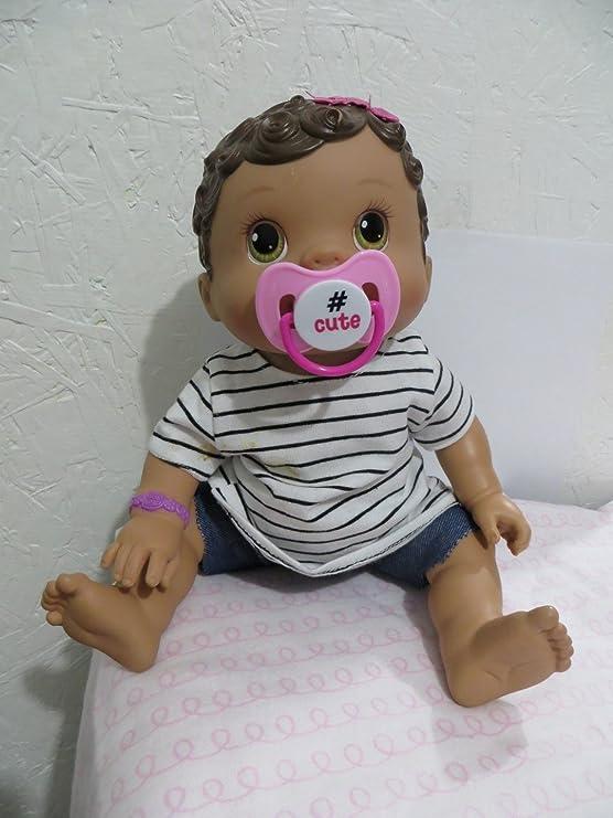 Amazon.com: Magnético muñeca Chupete – Personalizado para ...