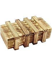 com-four® Caja mágica, Caja mágica de Madera, Caja mágica de Regalo