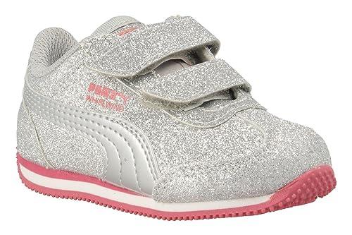e46a14aee436 Puma Shoe 363974-01 Whirlwind Silver  Amazon.co.uk  Shoes   Bags