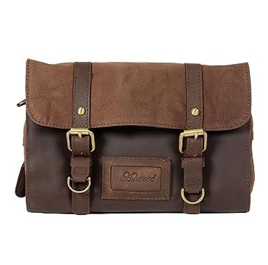 60084dbc93 Ashwood Brown Leather Fold Out Wash Bag  Amazon.co.uk  Clothing