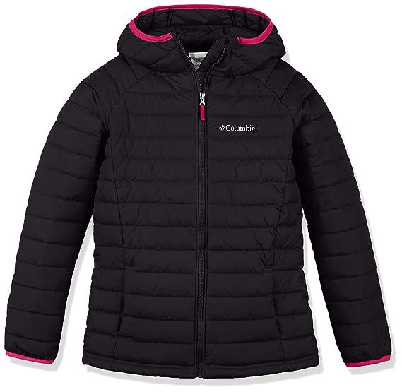 Columbia Mädchen Powder Lite Hooded Insulated Jacket