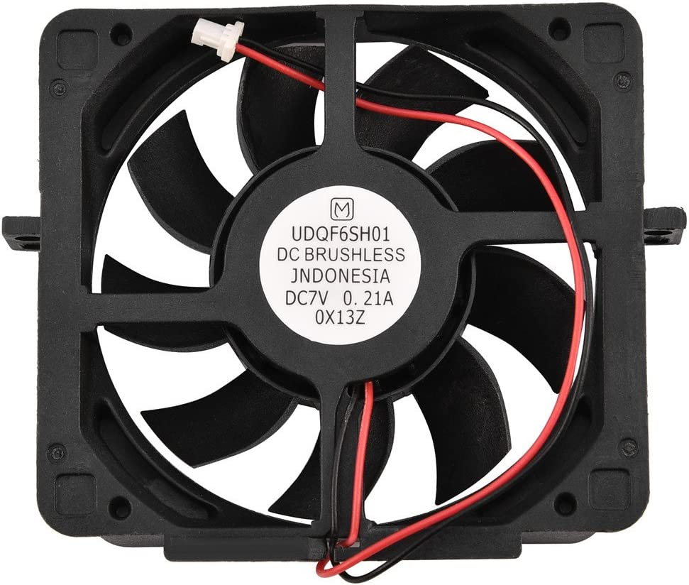 Hakeeta DC 7V Replacement of The Internal Cooling Fan for PS2 Cooler Internal Heat Dissipation Fan for Sony PlayStation2 50000/30000 Playstation2 Model