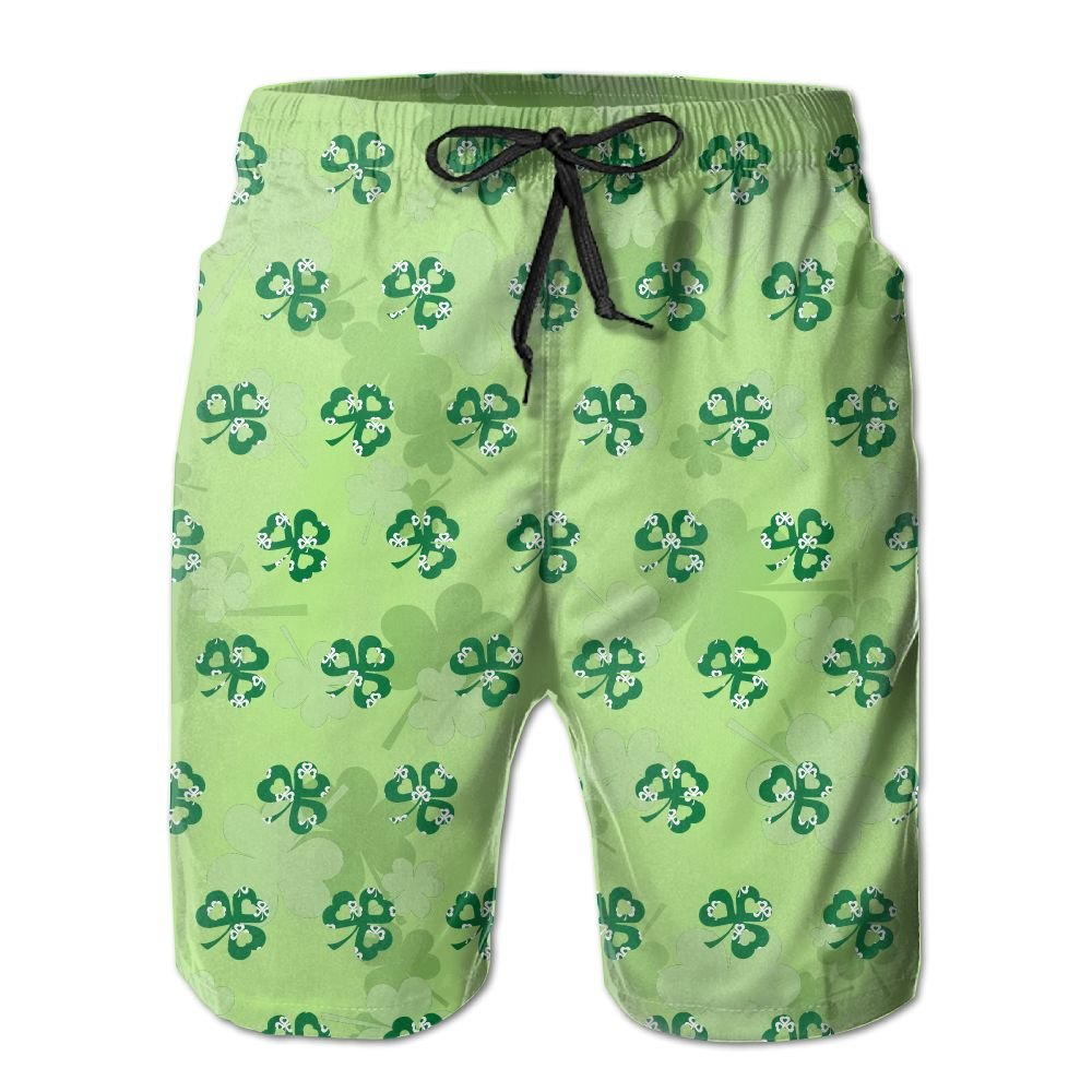 eceda0bf9a180 Patrick's Day Linen Mens Boardshorts Swim Trunks Men Tropical Gym Soccer  Board Shorts Solid Swim Trunks: Clothing
