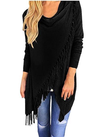 Amazon.com: StyleDome Mujeres Suéteres chaqueta de punto ...