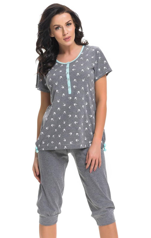 DN - Nursing Breastfeeding 100% cotton 2-peace Pyjama Set 5073
