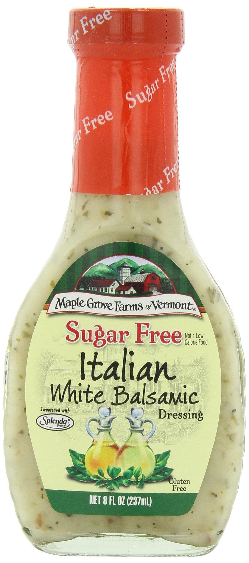 Maple Grove Farms Organic Salad Dressing, Italian, 8 Ounce (Pack of 12)