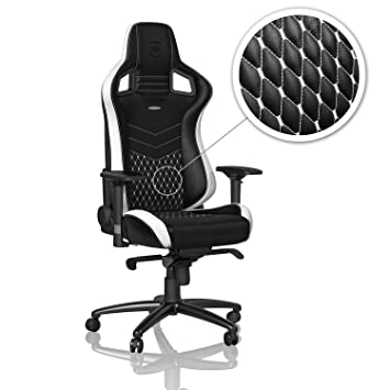 noblechairs NBL RL EPC 001 Epic Real Leather Gaming Fauteuil Bureau