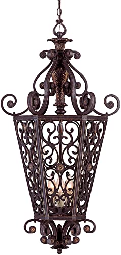 Savoy House 3-4088-6-16 Cordoba Open Foyer Antique Copper 6 – C Bulbs