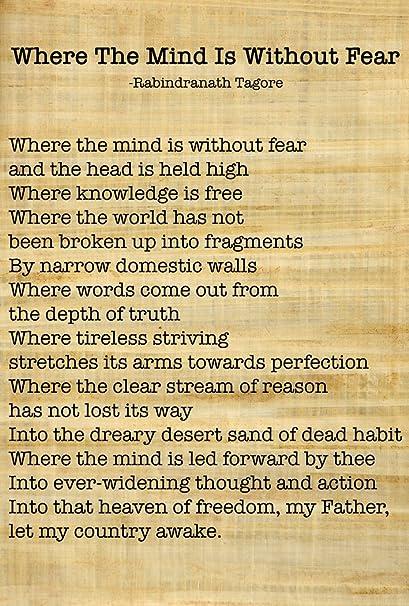 all hindi poems of rabindranath tagore