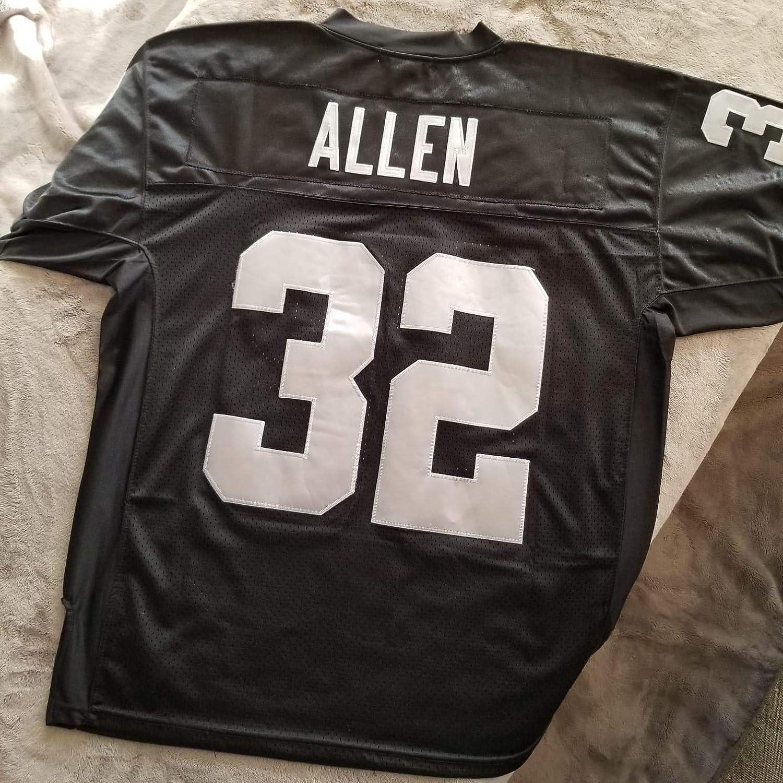 Amazon.com : Marcus Allen Raiders Jersey S : Clothing