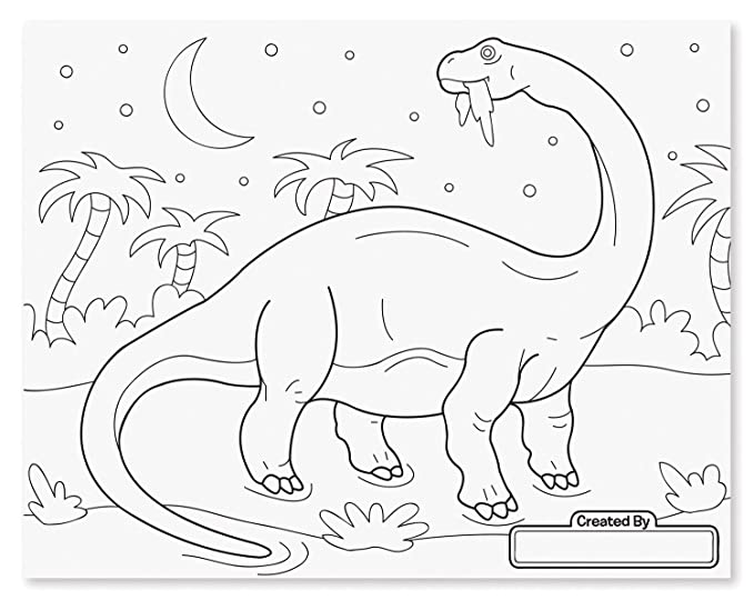 Amazon Melissa Doug Jumbo 50 Page Kids Coloring Pad